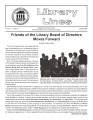Library Lines Volume 11, Number 3 January 2003
